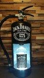 Brandblusser Jack Daniels met Led verlichting_