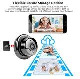 Mini wifi camera met intercom functie_