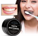 Witte tanden - actieve houtskool tandpasta_