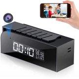 Tuya Smart Life Wifi ip spy camera wekker met nachtvisie_