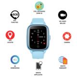 Kinder GPS horloge 4G - WIFI, SOS, bellen, videobellen, take off alarm_