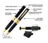 Spy camera pen  - Goud_