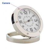 Ronde spy camera klok met bewegingsdetectie_