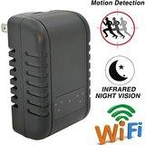 Wifi IP spy camera telefoon oplader Nachtvisie_