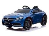 Kinder auto Mercedes C63 AMG rood, blauw of zwart_