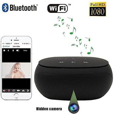 Wifi IP Spy Camera Bluetooth speaker met 180 roterende lens