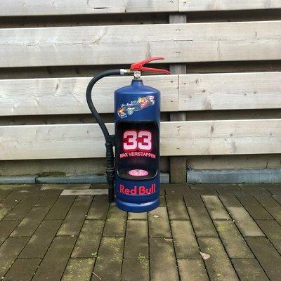 Max Verstappen brandblusser met led verlichting