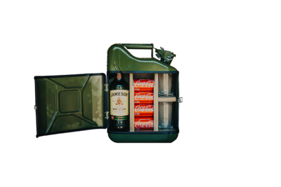 Jerrycan Bar 10L - Model 1 - Sterke drank