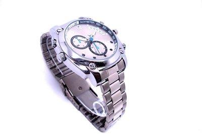 Spy horloge 8gb -zilverkleurig met metalen band