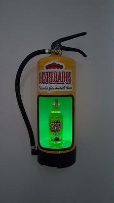 Desperados brandblusser met led verlichting