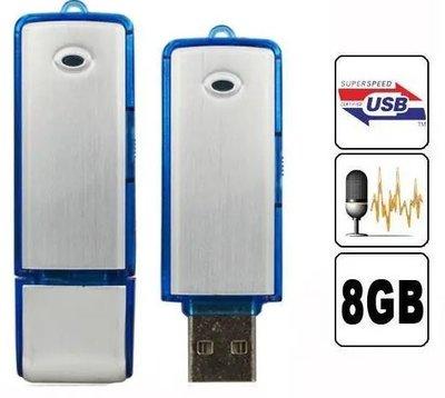 8GB USB stick voice recorder