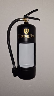 Brandblusser Hertog Jan met Led verlichting
