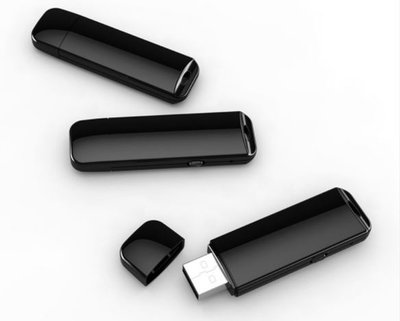 8GB USB stick voice recorder - Zwart - 25 uur opnemen