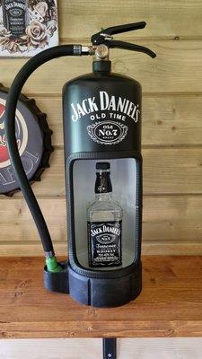 Brandblusser Jack Daniels met Led verlichting
