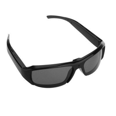 Spy camera zonnebril 720p - Zwarte glazen