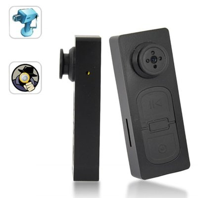 Spy camera knoop