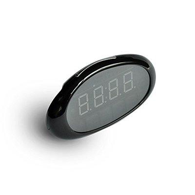 Ovale wifi IP spy camera wekker met nachtvisie