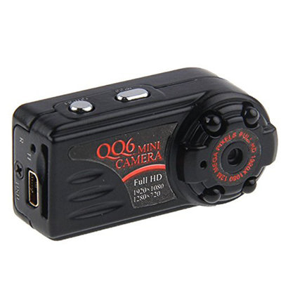 Mini HD spy camera met nachtvisie