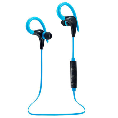 Bluetooth Sport Headset met Oorhaak - Blauw