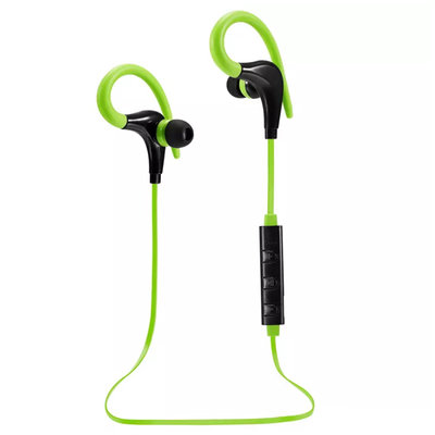 Bluetooth Sport Headset met Oorhaak - Groen