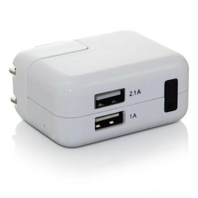 Spy Camera USB Oplader met Bewegingsdetectie