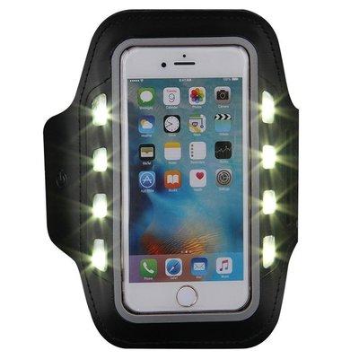 XXL sportarmband met LED verlichting
