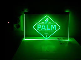 Palm LED bord