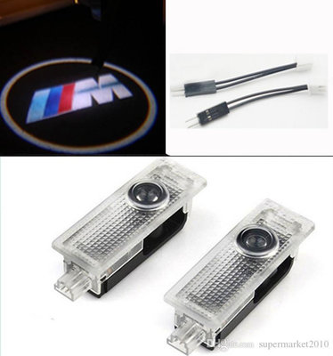 BMW M logo portier projector