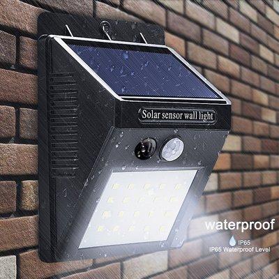 Solar LED buitenlamp met bewegingsdetectie