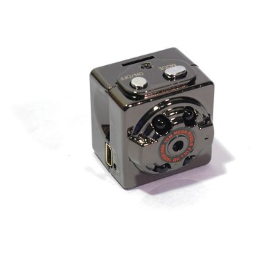 Mini camera met bewegingsdetectie en nachtvisie