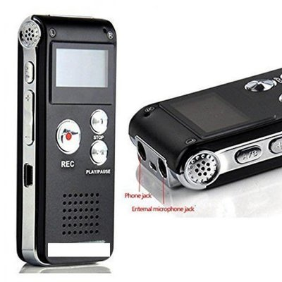 Dictafoon voicerecorder