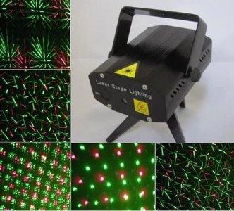 Mini laser show