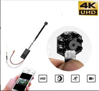 Wifi IP spy camera inbouwmodule met bewegingsdetectie en nachtzicht