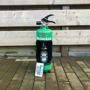 Heineken brandblusser met led verlichting