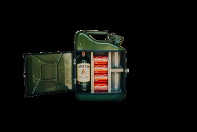 Jerrycan Bar 10L - Model 1 - Sterke drank