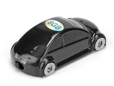 Afluisterapparaat autootje - 16GB - geluidsdetectie