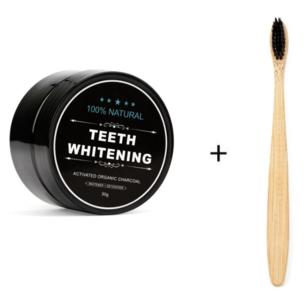 Witte tanden - actieve houtskool tandpasta