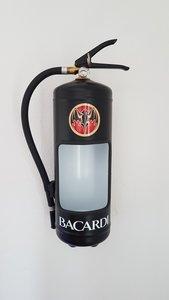 Bacardi brandblusser met led verlichting - model 2