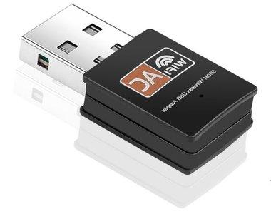 Dual band wifi adapter - 5ghz (en 2.5) - Windows, Mac en Linux  - 600mbps