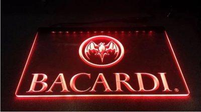 Bacardi Neon Led bord