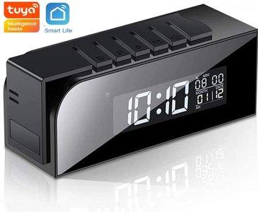 Tuya Smart Life Wifi ip spy camera wekker met nachtvisie