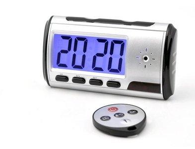 Spy camera wekker met bewegingsdetectie - Grijs