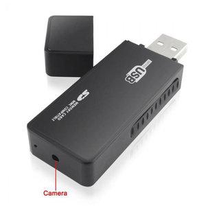 Spy camera USB stick met bewegingsdetectie