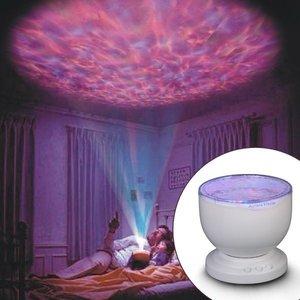 LED sterrenhemel nachtlamp 7 kleuren met speaker