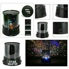 Sterrenhemel nachtlamp projector